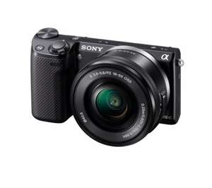 SONY NEX-5TLB Compact System Camera with 16-50 mm Lens £349.98 @ Currys