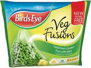 Birds Eye Vegetable Fusions Garden Peas With Mint (276g) now only 75p @ Heron Foods