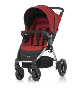 Britax B-Motion Pushchair - Neon Chili, Includes Raincover just £99 (was £249) @ kiddicare