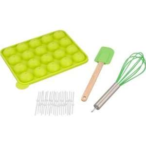Argos Silicone Cake Pop Starter Set - Green £3.99