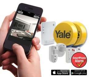 Yale Easy Fit Smartphone Alarm with PIR Camera and App for only £312.29 at Ebuyer!!