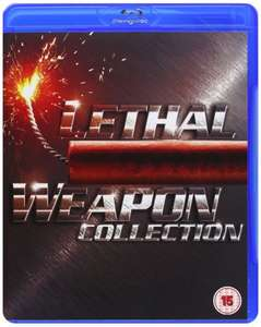 Lethal Weapon BLU-RAY collection £8.54 at wow hd
