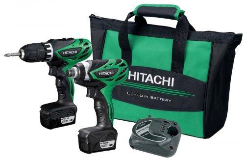 2 Drills - Hitachi KC10DFL 10.8V Cordless Li-Ion Drill & Impact Driver Drill & 42 Piece Bit and Drill Set  £114.99 @ Costco