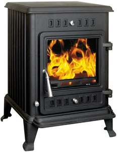 Kresnik Cast Iron Multifuel Stove 4.5kW - £129.97 @ Toolbox.co.uk (+£19.98 Delivery)