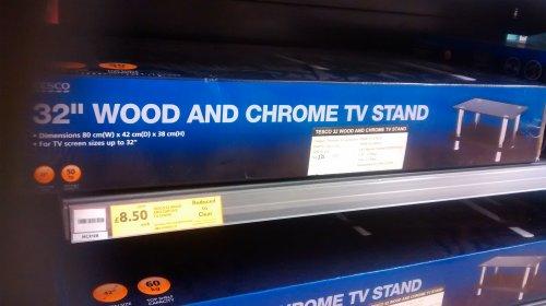 TV unit @ Tesco instore
