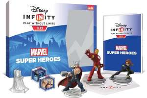 Disney Infinity 2.0 Marvel Superheroes Starter Pack - £42 for Xbox 360 or PS3, £47 for Xbox One or PS4 @ Tesco Direct Using Code