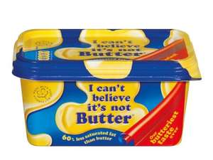 I CAN'T BELIEVE IT'S NOT BUTTER 500g Original Spread £0.89 at LIDL