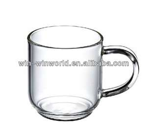 3 clear glass tea or coffee mugs for 99p @ 99p stores