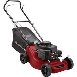 Sovereign Petrol Push Mower - 149.3cc - 40cm £95.99 @ Homebase