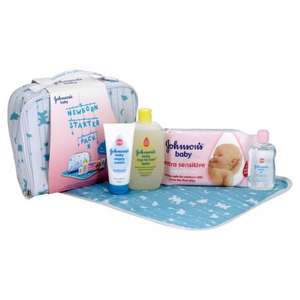 Newborn starter pack Johnson's baby £3.12 at Tesco instore