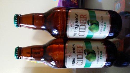Herrljunga Pear cider 500 ml Sweden No.1 cider £0.99 @ NISA
