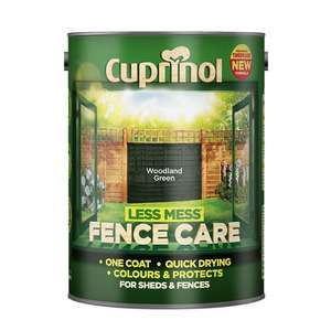 Cuprinol Less Mess Fence Care 5L ASDA Direct - £6