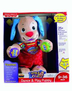 Fisher-Price Laugh & Learn Dance And Play Puppy at Amazon