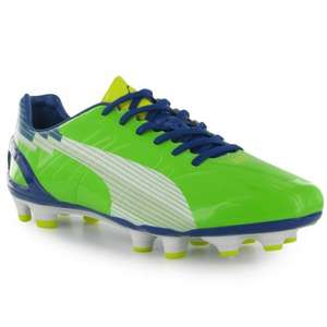 Puma evoSpeed 3 FG Mens Football Boots size 6, 7, 8 £9.49 + £3.99 delivery sportsdirect.com RRP £94.99 90% off !!!