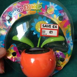 Solar flower for the car at the entertainer reduced from £5 to £1 @ TheToyShop.com (The Entertainer)