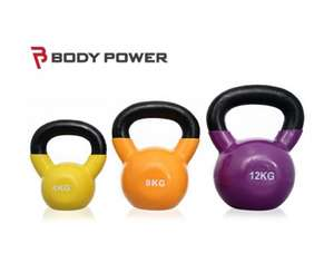 58% off Bodypower Vinyl Coated Kettle Bell Set (Was £119.97, NOW £49.99) @ Fitness Superstore