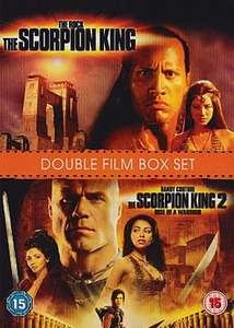 (DVD) The Scorpion King / The Scorpion King 2 - Rise Of A Warrior - £1.25 - Asda Direct