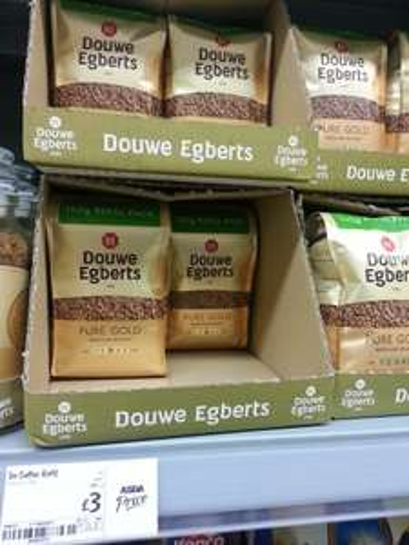 Douwe Egberts Pure Gold Medium Roast 150g refil pack £3 @ Asda