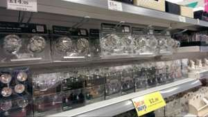 Large crystal door knobs £14.99 homebargains