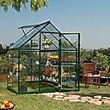 Palram HARMONY 6 x 4 - Green Greenhouse - Polycarbonate and Aluminium Frame £178.50 delivered @ Tesco Direct