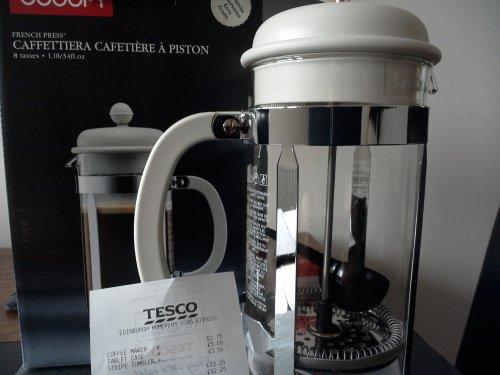 Bodum Cafetiere (8 cup) £3.75 @ Tesco Home Plus
