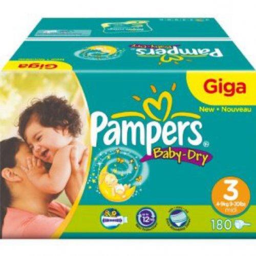 Pampers giga pack £10 @ Asda