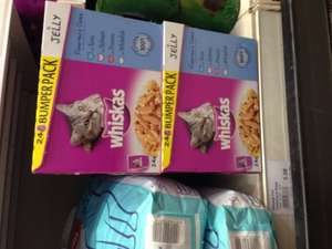 whiskas 24 Bumper pack in Jelly  (Fisherman's choice) £5 @ Booths