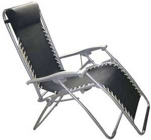 Textoline Reclining Garden Chair  £33.99 @ Amazon  and sold by 365-home-zone.