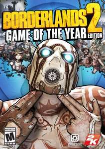 [Steam] Borderlands 2 for £2.93 and Borderlands 2 GOTY for £5.87 @ Amazon US
