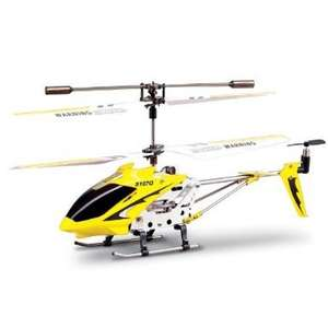 Syma S107G RC Helicopter (Yellow)  £11.67 @ Amazon - RUDE NOT TO GET THIS!