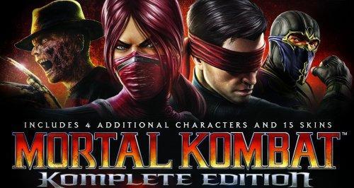 Mortal Kombat Komplete £3.74 @ Steam