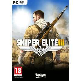 Sniper Elite 3 Afrika on pc only £14.16 using FB code (Pre-Order) @ CD Keys