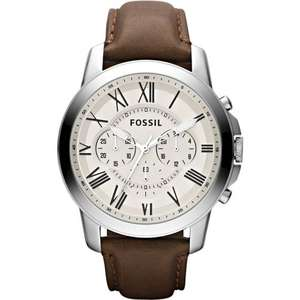 Fossil watches. Variety of mens designs - from £54.28 (£95 at Fossil) @ watches2u