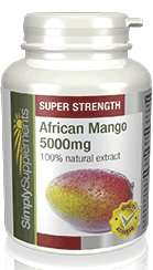 African Mango 5000mg SALE - 30% OFF £10.99 @ SimplySupplements