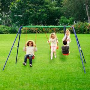 delta double swing set £39.99 - save £10 plus free delivery @ smythstoys