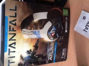 Turtle beach Atlas Titan fall xbox one headset with adapter £49.99 @ HMV