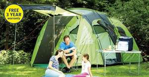 4 person tent £79.99 @ Aldi (plus lots of camping stuff) from Thursday 26 June