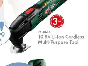 parkside multi tool  with 3 years guarantee £39.99 @ Lidl