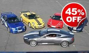 45% off Triple Supercar Drive Experience Day (Was £179, NOW £99.00) @ Activity Superstore