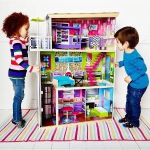 La Belle Maison Wooden Dolls' House now £50 (Was £140) @ ELC