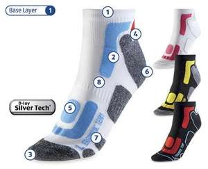 Ergonomic cycling socks £2.99 @ Aldi from 29th June