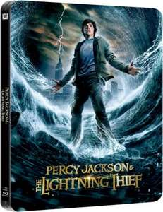 (Blu Ray) Percy Jackson and the Lighting Thief - Limited Edition Steelbook - £6.99 - Zavvi