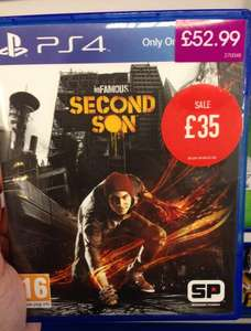 InFAMOUS: Second Son (PS4) @ GAME in-store Portsmouth - £35.00 (New)