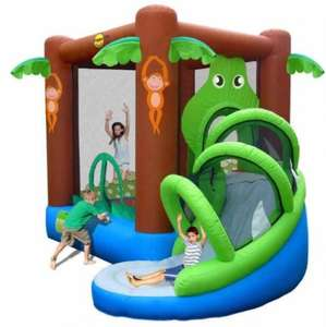 Airflow crocodile bouncy castle with slide £140.00 @ Tesco Direct