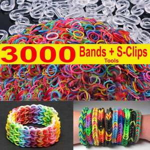 Loom bands 3000 £5.95 @ ebay / cybernet-selling-everything