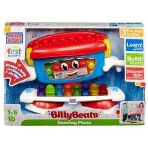 Mega Bloks First Builders Billy Beats Dancing Piano @ Argos £9.99