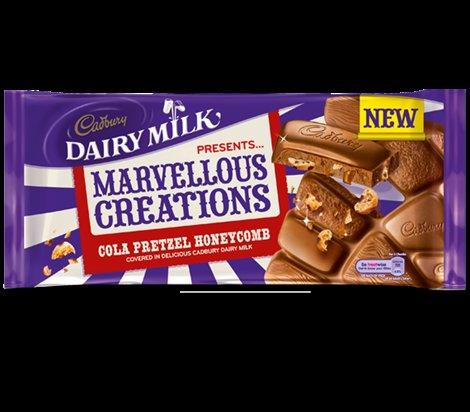 Cadbury's Marvellous Creations Cola Pretzel Honeycomb 200g - 20p instore @ Sainsbury's