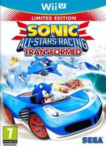 Wii U: Sonic & All-Stars Racing Transformed Limited Edition £10 @ Game instore