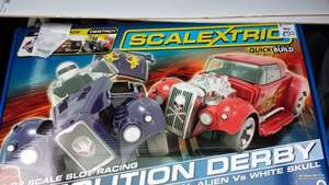 Demolition Derby Scalextric £50 at Tesco Batley Mill