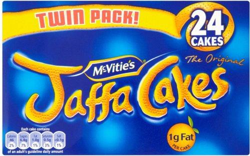 Mcvities Jaffa Cakes Twin Pack 2x150g 24Pk £1.09 @ Tesco